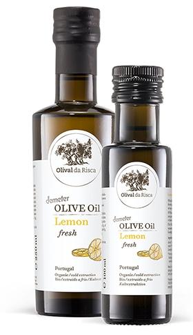 OLIVENÖL LEMON EXTRA VIRGIM DEMETER 250 ml