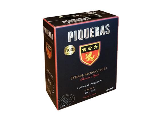 PIQUERAS BAG in BOX 3 Liter 2018