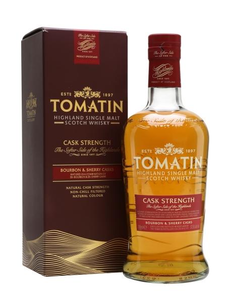 TOMATIN SINGLE MALT CASK STRENGTH