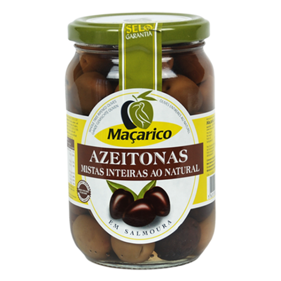 MACARICO OLIVEN NATURAL- GANZE OlIVEN GEMISCHT