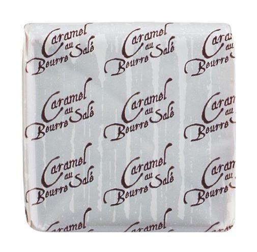 Le carré caramel au beurre salé, Display
