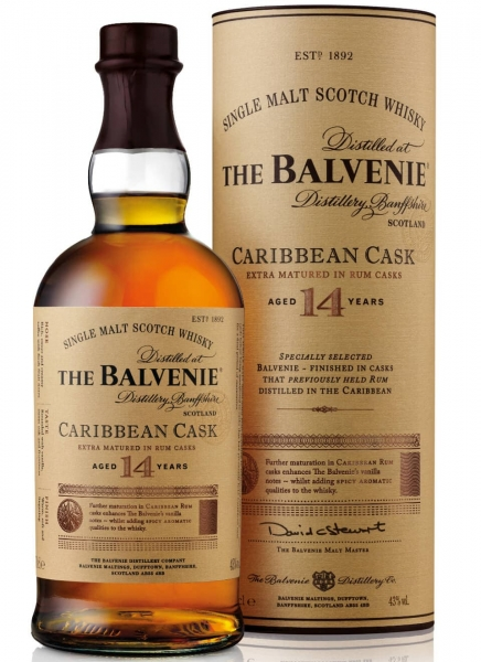 THE BALVENIE SINGLE MALT 14 Y CARIBBEAN CASK
