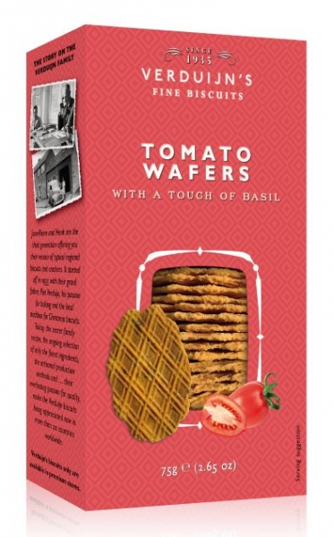 VERDUIJN'S FINE BISCUITS TOMATO WAFERS