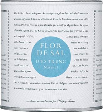 FLOR DE SAL D`ES TRENC NATURAL 180 g