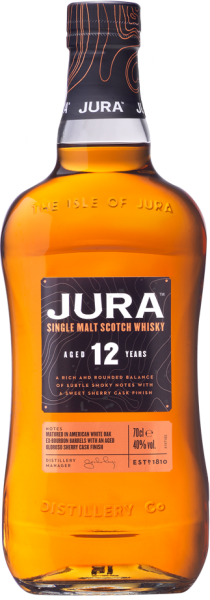 JURA SINGLE MALT SCOTCH 12 JAHRE