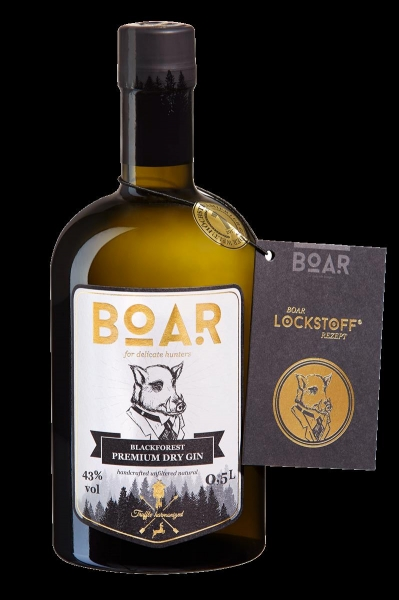 BOAR GIN 0,5 L 43 % VOL
