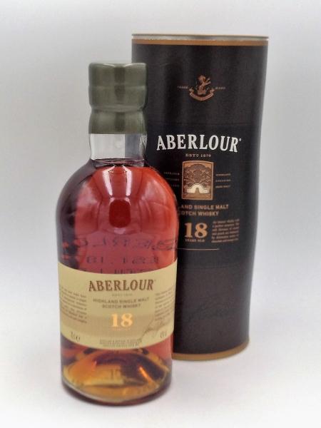 ABERLOUR 18 Years old Higland Single Malt Scotch Whisky