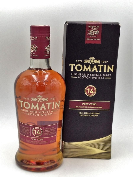 TOMATIN HIGHLAND SINGLE MALT 14 JAHRE