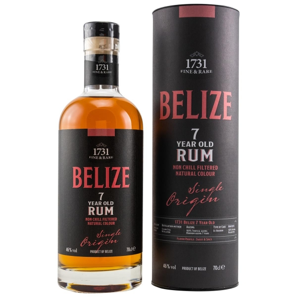 1731 RUM -BELIZE 7 YEARS OLD