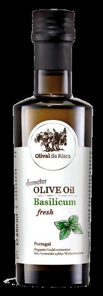 OlIVE OIL BASILICUM FRESH 100 ml