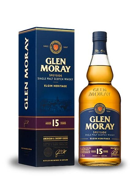 GLEN MORAY SPEYSIDE SINGLE MALT 15 YEARS